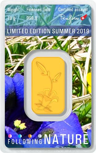 2019-es nyári limitált aranylapka az Argor-tól!